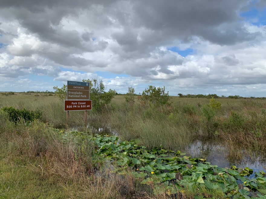A back entrance to Everglades National Park is less than a half mile from the neighborhood.