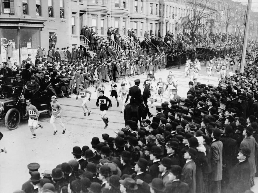 Brooklyn Marathon, 1909.
