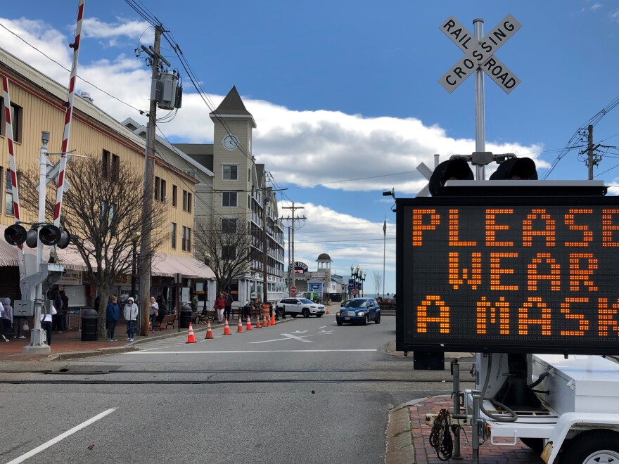Tourist towns like Old Orchard Beach are experimenting with ways to meet the needs of the day: closing streets to cut down on the density of sidewalk crowds, coordinating beach openings so no one area gets overwhelmed, creating new cleaning regimes for all-important public restrooms.