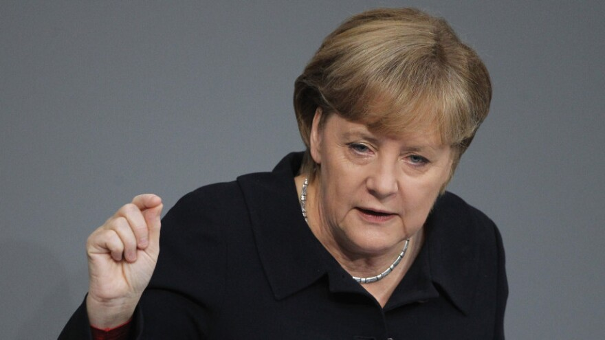 German Chancellor Angela Merkel says Europe's economic turmoil is the continent's greatest crisis since World War II. But critics say she has been doing too little and lacks a bold vision for solving Europe's problems.