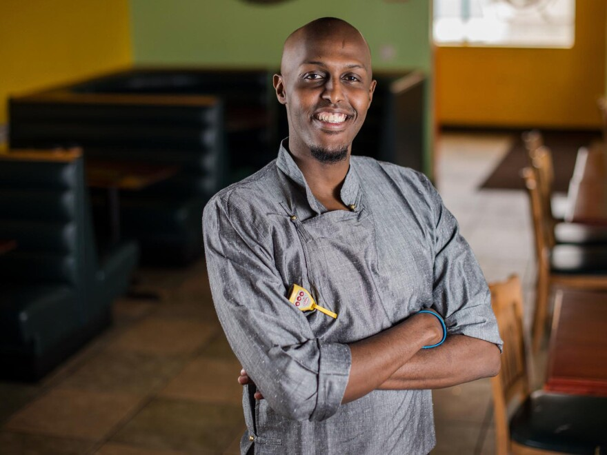 Restaurateur Jamal Hashi, who fled to the U.S. with his family during Somalia's civil war, takes pride in bringing the feeling of home to Somali-Americans in Minnesota, which has the largest population of Somalis in America.