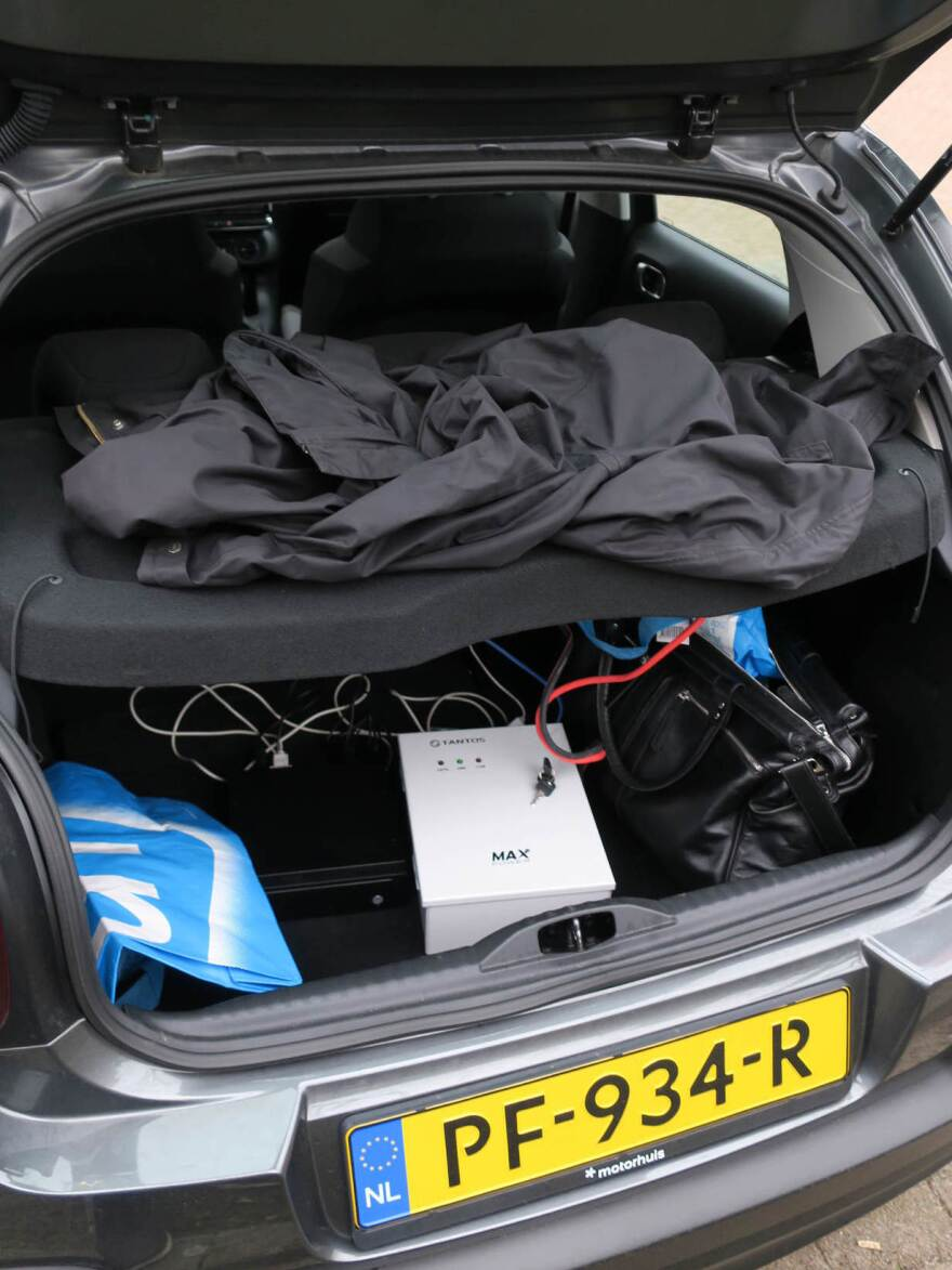 Specialized equipment was found operating in a rental car that was parked near the OPCW's building in The Hague. Dutch officials say the gear was used to intrude on Wi-Fi networks.