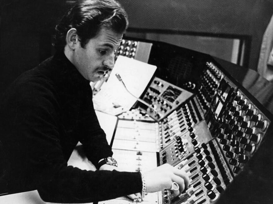 Eddie Kramer in the recording studio.