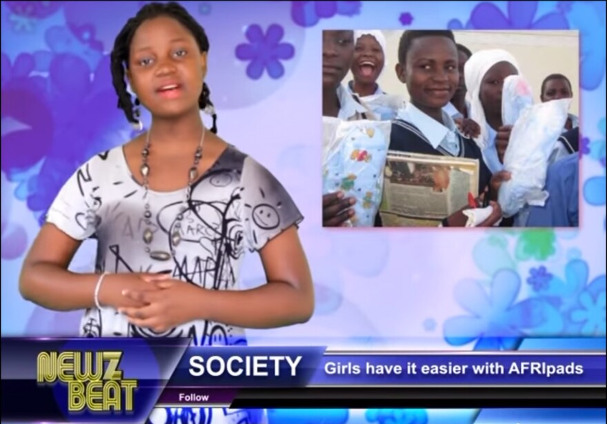 "Zoe Kabuye, 14, is a star ""rap-orter"" on the rapping Ugandan show <em>NewzBeat</em>."