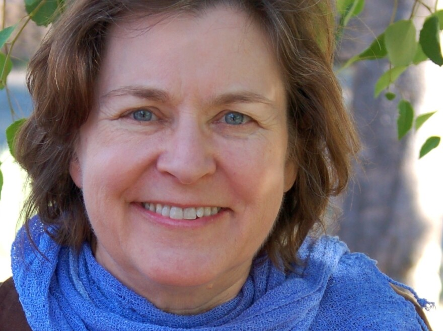 Karen Joy Fowler, whose new book is <em>We Are Completely Beside Ourselves,</em> became well-known in 2004 with the publication of her best-selling novel <em>The Jane Austen Book Club.</em>