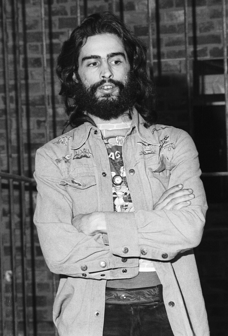 David Mancuso, photographed on Oct. 14, 1974 during a meeting with the SoHo Artists' Association in New York.