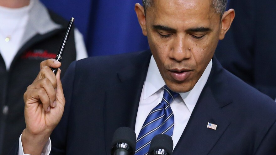 President Obama may not like the bills Congress considers, but he has vetoed only two of them.