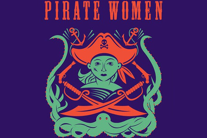 """A portion of the cover of """"Pirate Women"""" by Laura Sook Duncombe. (Courtesy the Publisher)"""