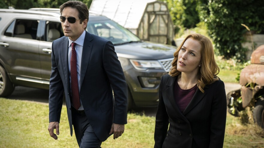 David Duchovny and Gillian Anderson reprise their roles of FBI agents Fox Mulder and Dana Scully in six new episodes of <em>The X-Files</em>.