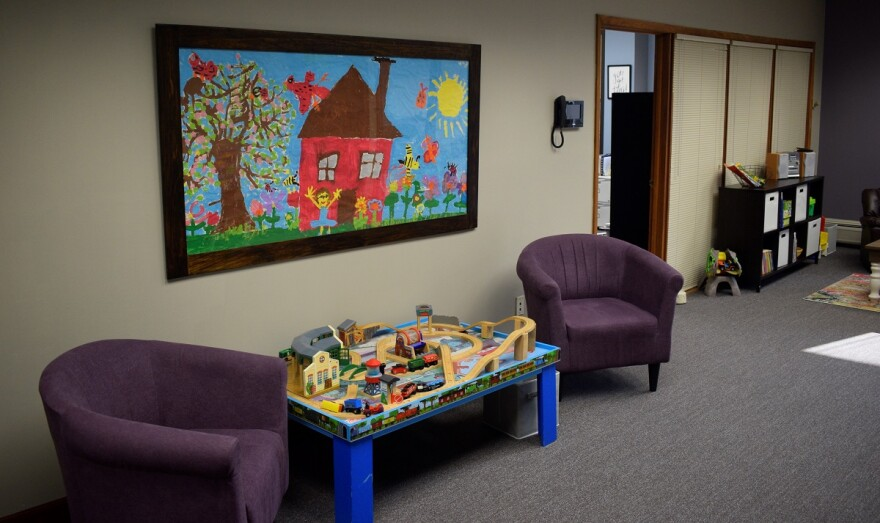 CAC therapy waiting room
