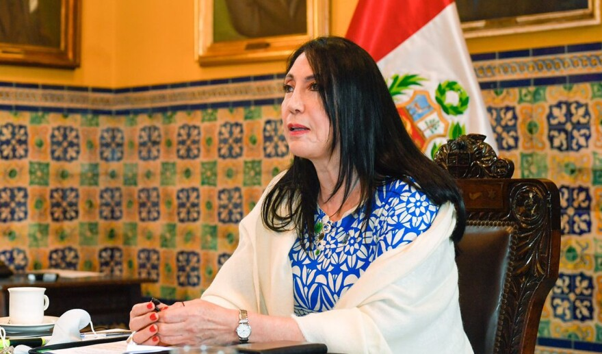 VACUNAGATE Elizabeth Astete, who was forced to resign as Peru's Foreign Minister last week after saying she took COVID-19 vaccine doses reserved for others because she 'couldn't afford the luxury' of getting sick.