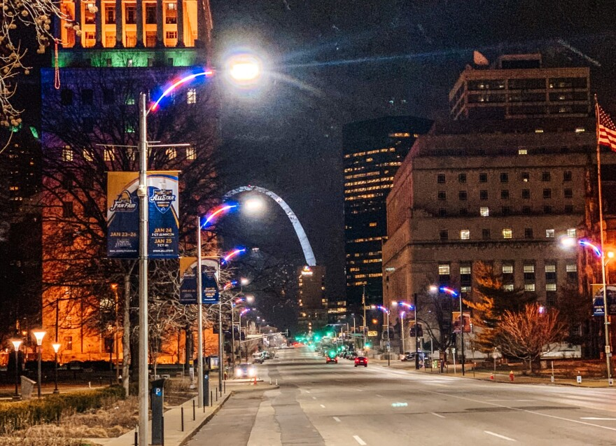 Downtown STL is in the process of upgrading the street lights throughout 360 square blocks in downtown St. Louis.