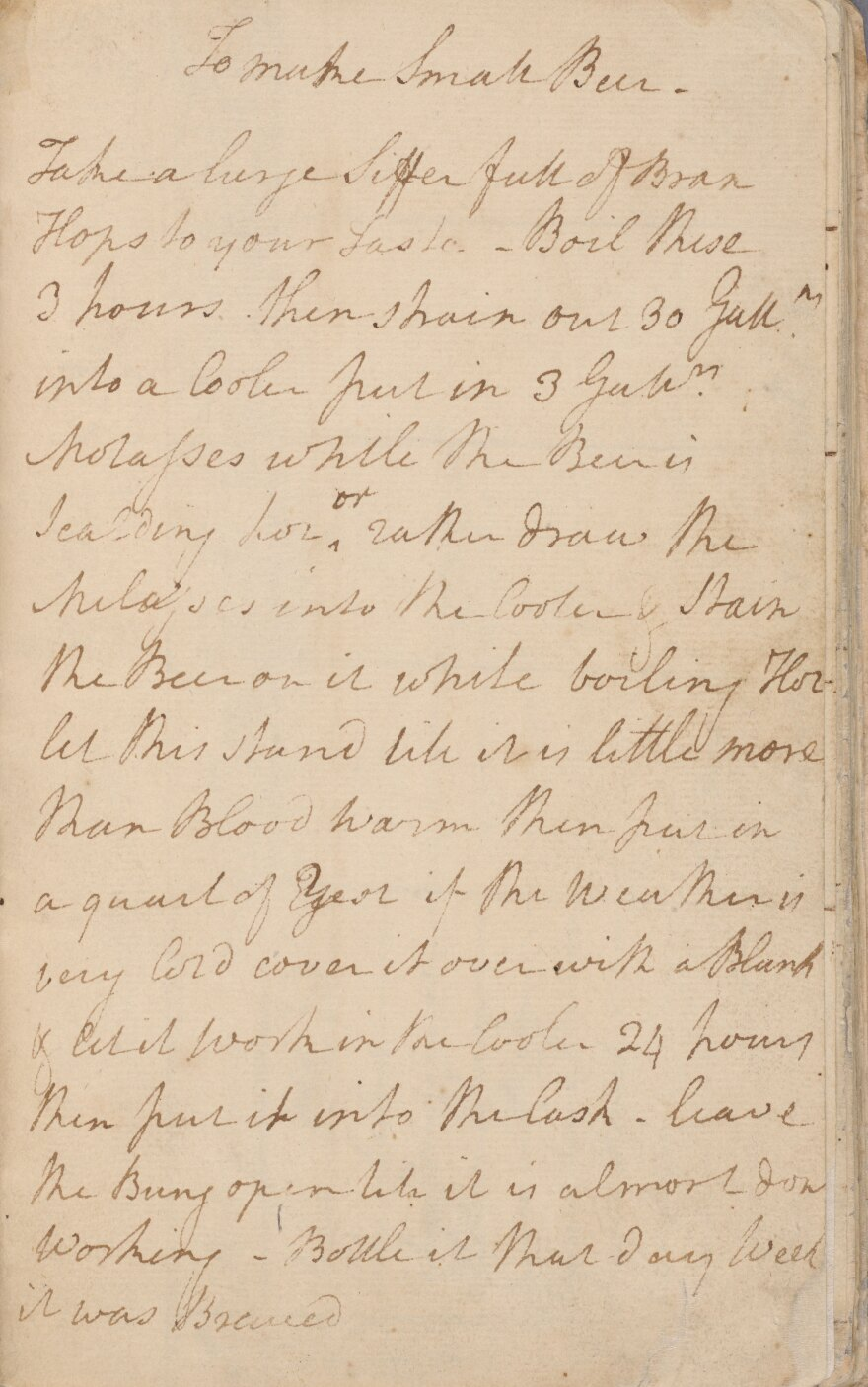 """The NYPL's digital holdings include the papers of notable Americans: letters from Walt Whitman, journals by Nathaniel Hawthorne, receipts from Alexander Hamilton --€"""" and George Washington's recipe for """"small beer."""" (A transcription is available <a href=""""http://exhibitions.nypl.org/treasures/items/show/130"""">here</a>.)"""