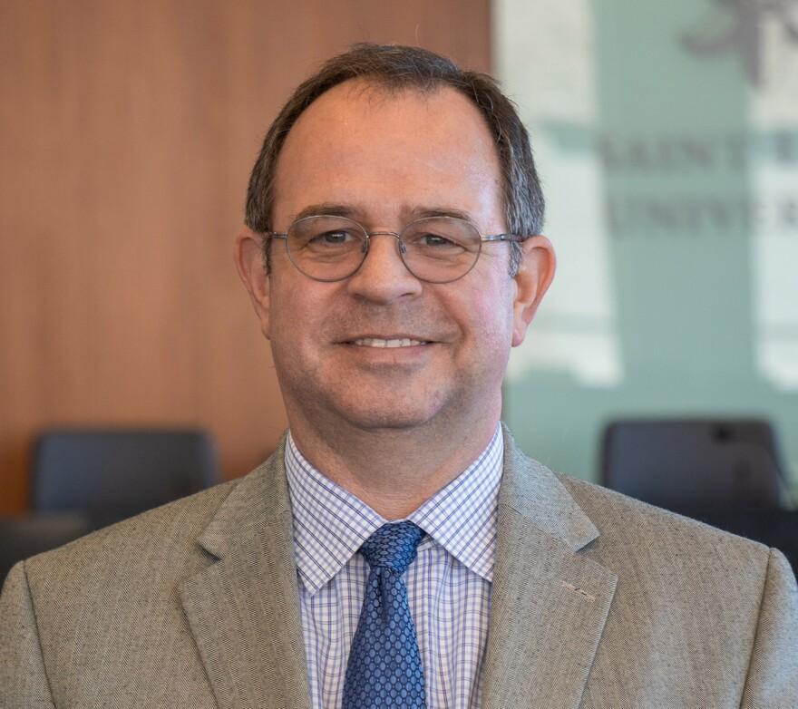 Rob Gatter, SLU professor of law, joined Tuesday's program.