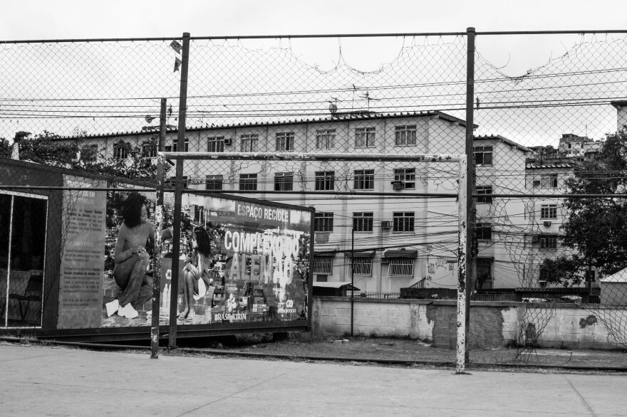 In the Alemao <em>favela</em> complex, five people have been shot in the past two weeks.