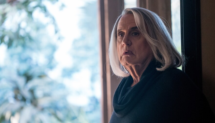 Jeffrey Tambor stars as Maura Pfefferman in Amazon's <em>Transparent. </em>The show's third season comes out on Friday.