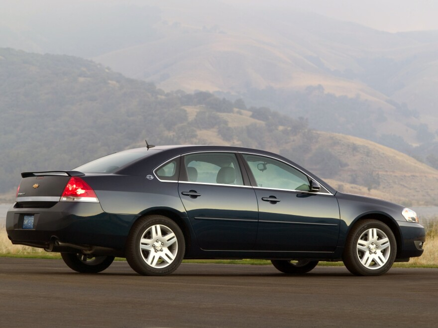 A 2006 Chevrolet Impala LTZ is one of the vehicles on the latest recall list.