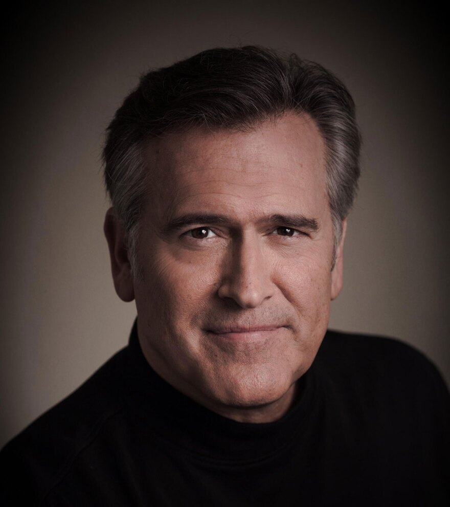 Photo of actor Bruce Campbell