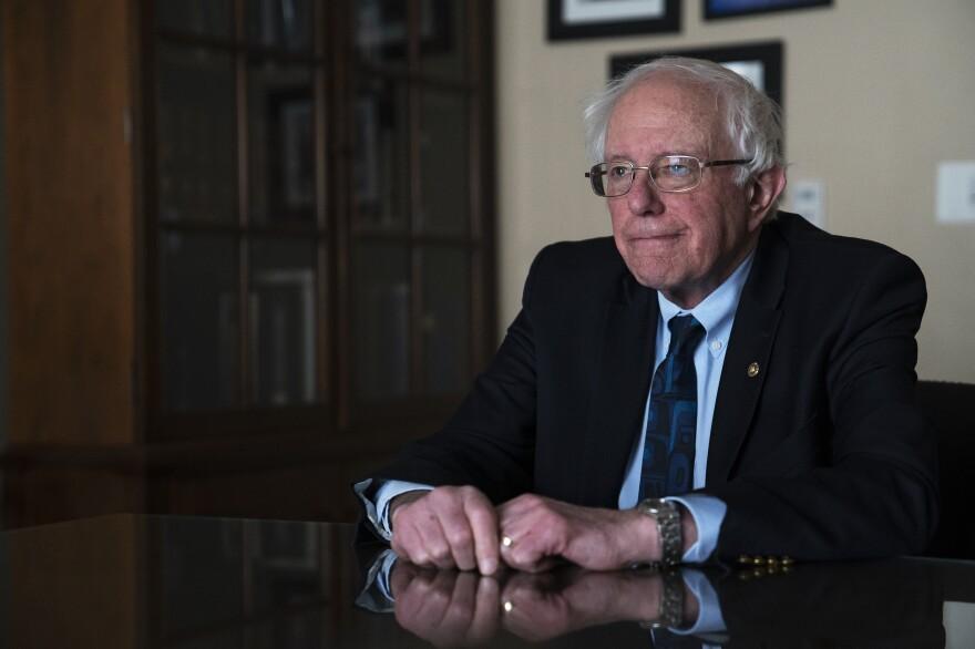2020 presidential candidate Sen. Bernie Sanders spoke with NPR.