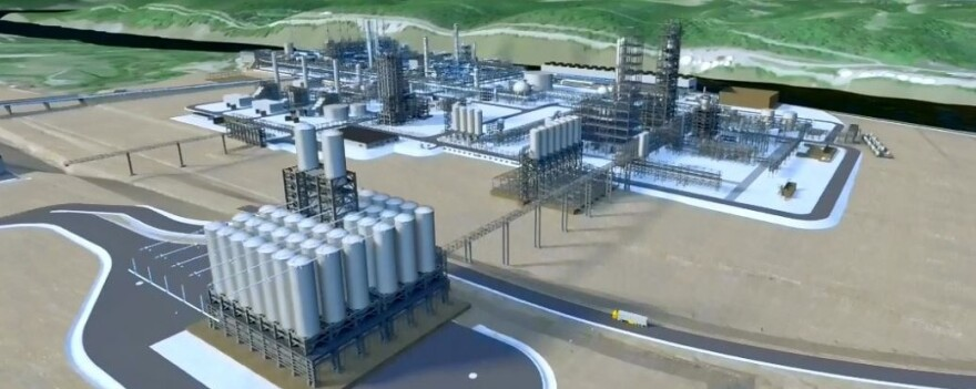 proposed Shell cracker plant