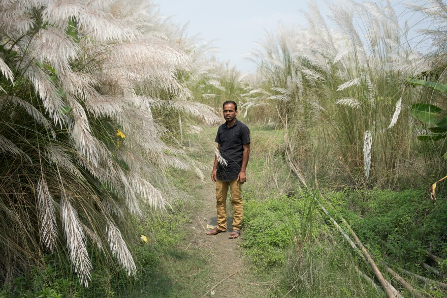 "Nasir Uddin, 29, is the informal leader of the Chandanpur char. His mother and both sisters were left off the NRC. His sisters did not have high school certificates. For young women, inclusion in the NRC can help boost marriage prospects. ""People these days ask if you are in the NRC before marriage,"" Uddin explains. ""It will be very hard to get my youngest sister married."""