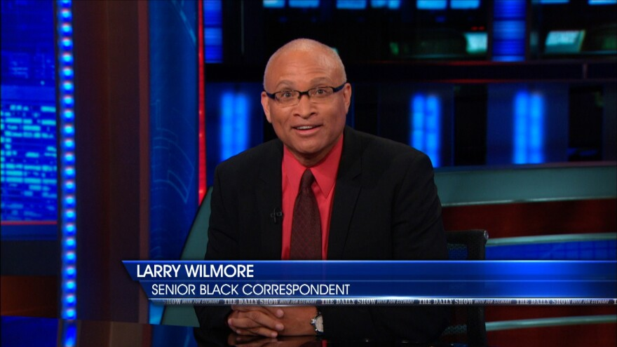 """""""When I'm working on <em>The Daily Show</em>, I understand that I'm having a dialogue with the audience about something that is pretty charged,"""" says Larry Wilmore. """"And I'm always trying to work on: What is this really about?"""""""