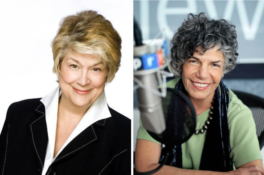 """Lynne Rossetto Kasper, host of <a href=""""http://www.splendidtable.org/"""">The Splendid Table</a> (left) wasn't fooled by Susan Stamberg's attempt to play """"Stump the Cook"""" with the ingredients for her (in)famous cranberry relish recipe."""