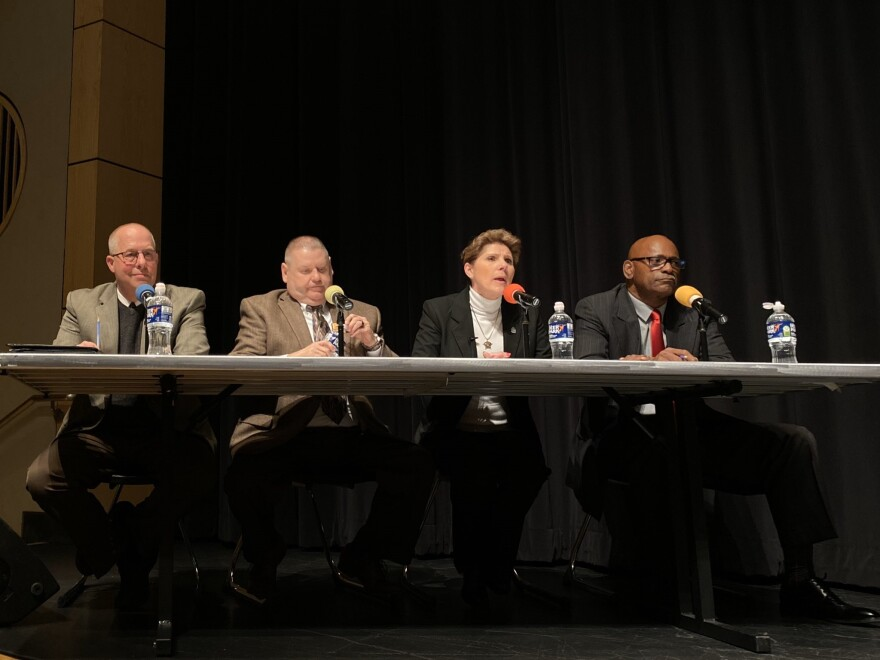 photo of Democratic candidates for Summit County sheriff