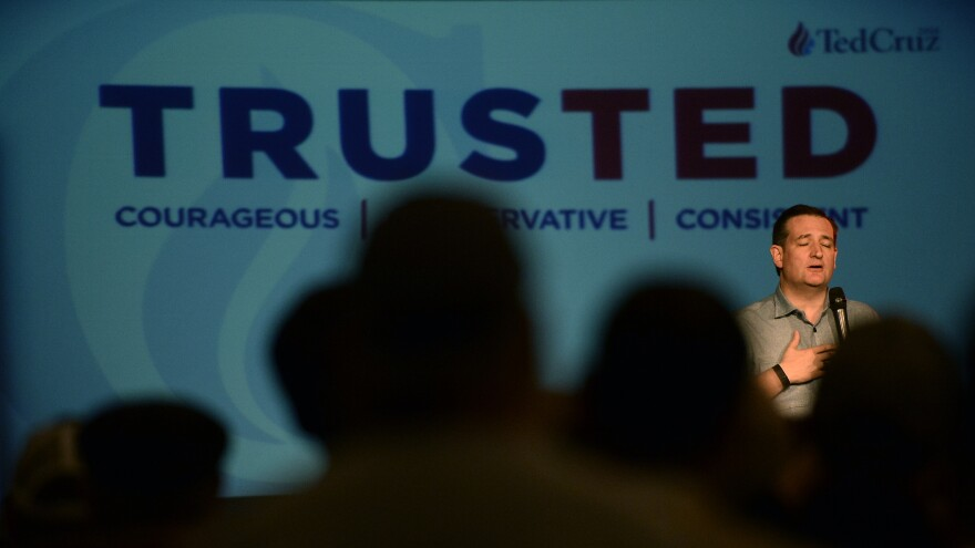 Texas Sen. Ted Cruz has made the case that he is the consistent conservative in the presidential race, but he is fending off questions about a loan from a major Wall Street firm his wife worked for.
