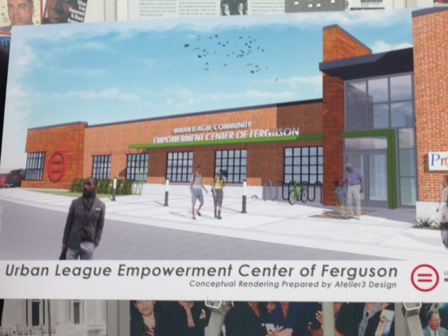 A rendering of the planned jobs center was unveiled by the Urban League of Metropolitan St. Louis on Monday.