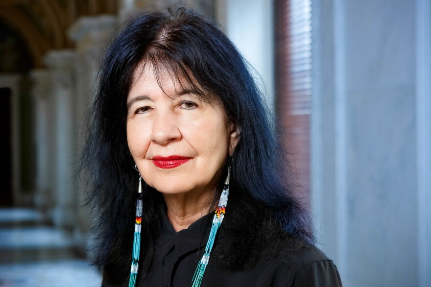 U.S. Poet Laureate Joy Harjo has authored numerous books of poetry, two children's books and a memoir, <em>Crazy Brave.</em> She is a mem­ber of the Mvskoke Nation.