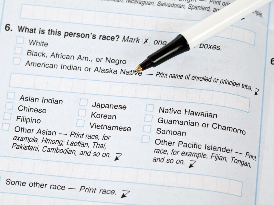 "If the White House approves a proposal to change the way the government collects race and ethnicity data, white people in the U.S. may be asked to check off boxes about their ethnic background. On this 2010 census form, answering ""white"" was enough to respond to the race question."