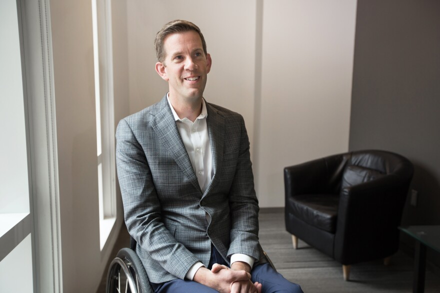 Jess Markt has been working with Cairo and others to create sports programs for disabled people in war zones. He has his eye on the Paralympics for the Afghan national basketball teams.