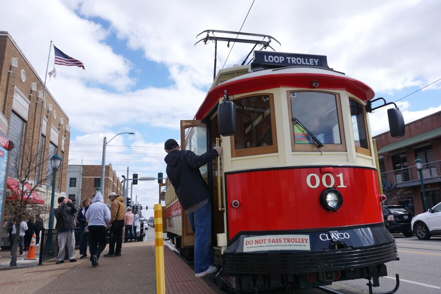 The Loop Trolley currently operates Thursdays through Sundays, beginning at noon.