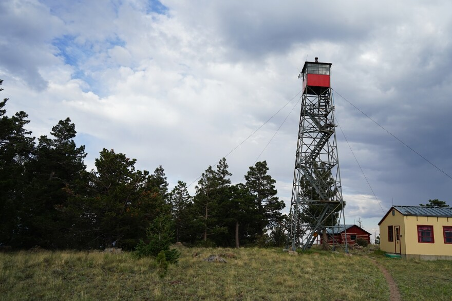 In the early 1900s, fire lookouts were also firefighters. They'd spot, locate and extinguish fires as quickly as possible.