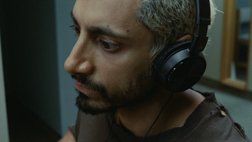 Ruben (Riz Ahmed) is a punk-metal drummer who loses his hearing in <em>Sound of Metal</em>.