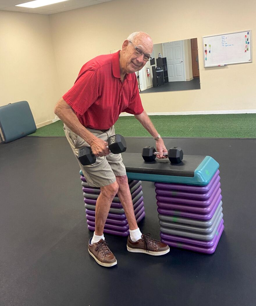 Tom Tengen of Lakewood Ranch is an active senior. Even so, this year he is opting to vote by mail rather than in person due to concerns over the coronavirus.