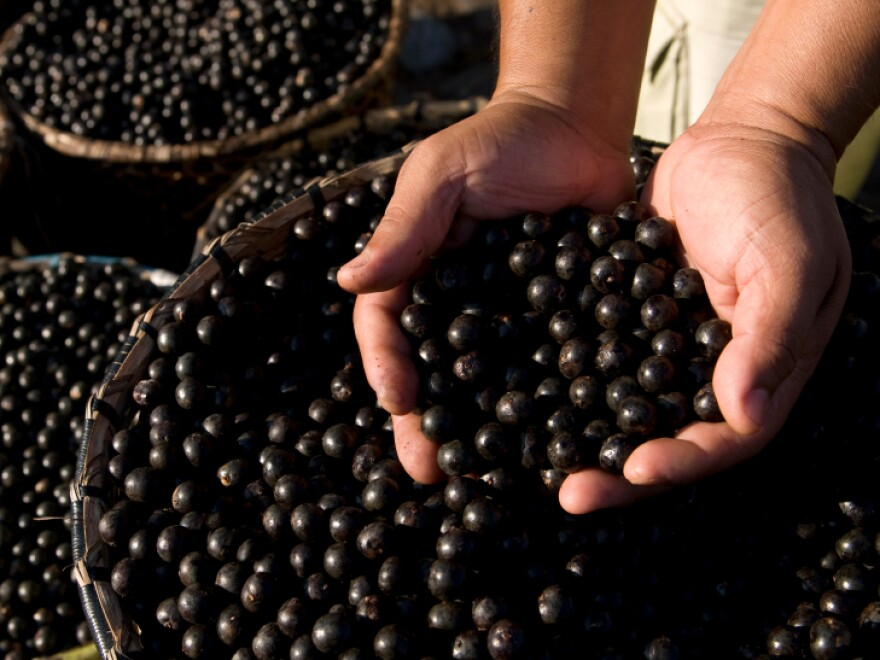 Little acai berries like these are at the center of cases brought by the Federal Trade Commission.