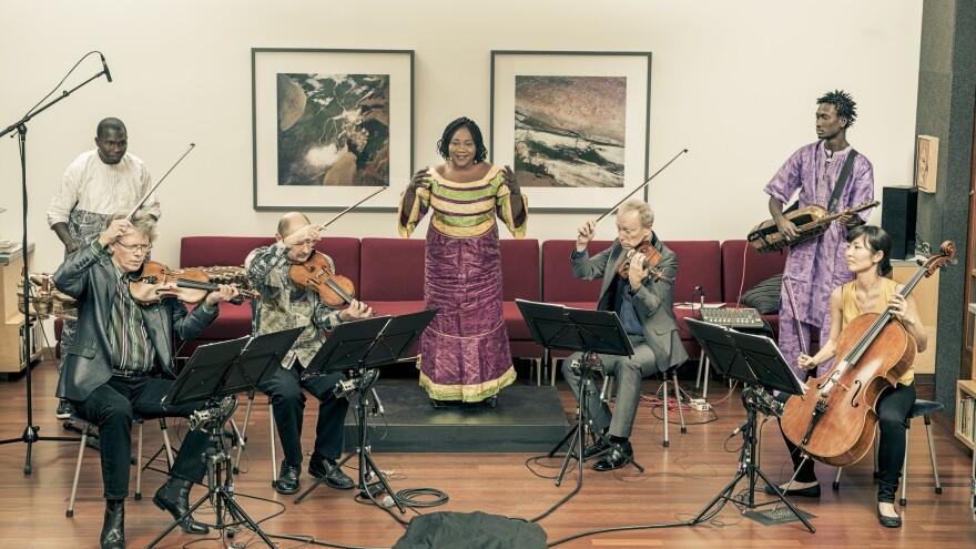 Trio da Kali and Kronos Quartet's album, <em>Ladilikan</em>, is available now.