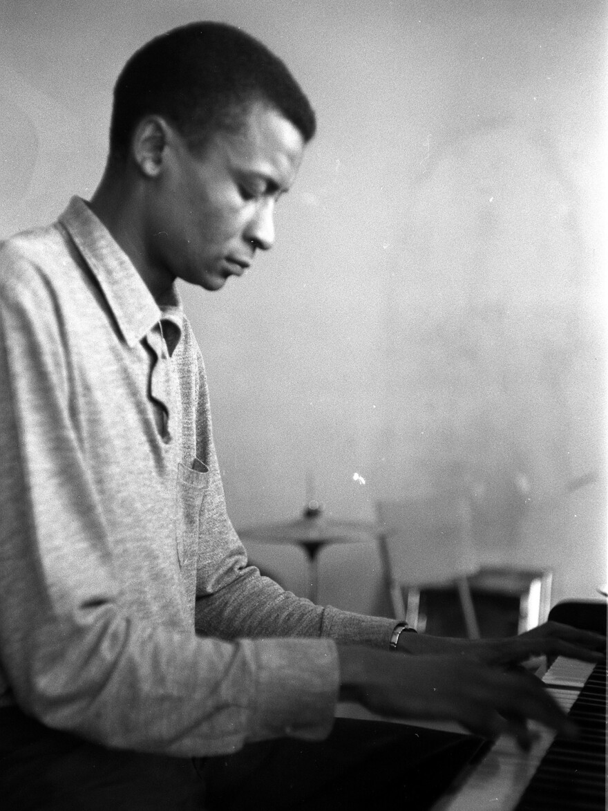 Abdullah Ibrahim (formerly known as Dollar Brand) before he left South Africa in 1959.