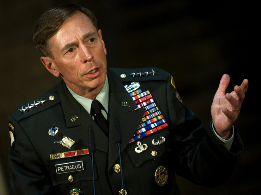 Then-Gen. David Petraeus in mid-2011, just before he became CIA director.