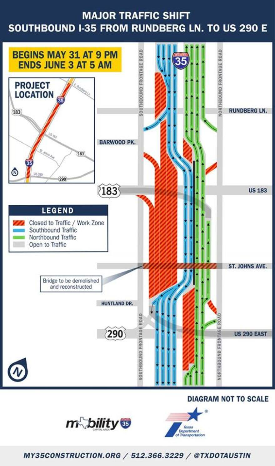 The bottom line from TxDOT: Don't take I-35 if you have another option.
