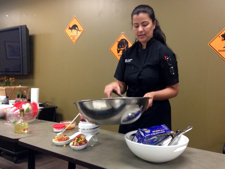 Chef Mabel Guzman