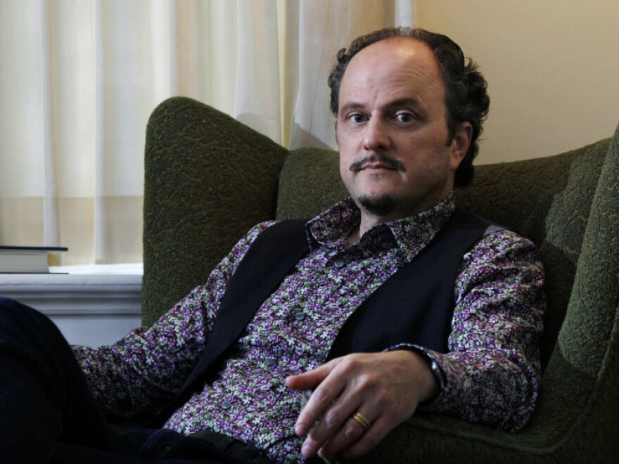 <p>Jeffrey Eugenides' 1993 novel, <em>The Virgin Suicides,</em> was adapted for film by director Sofia Coppola, and his 2002 novel, <em>Middlesex,</em> won a Pulitzer Prize. Eugenides graduated from Brown University in 1983. He teaches at Princeton University. </p>