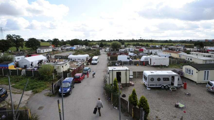 A group of semi-nomadic Irish known as the Irish Travellers face eviction from Dale Farm, land they've lived on outside London for a decade.