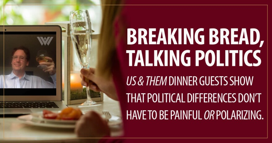 Dinner Party - Us and Them graphic