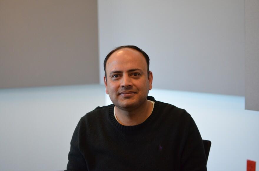 Shaji Khan, assistant professor of information security at UMSL.
