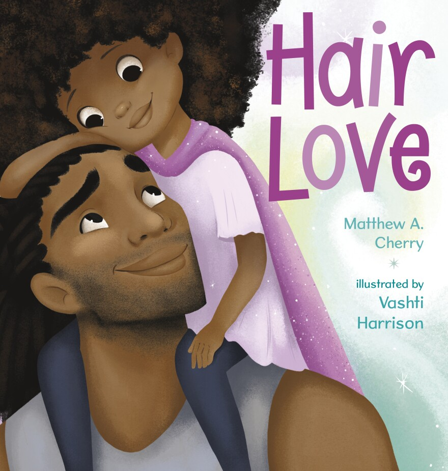 Author Matthew A. Cherry wants young African American girls and fathers to see themselves represented not only in children's books but in animation as well.