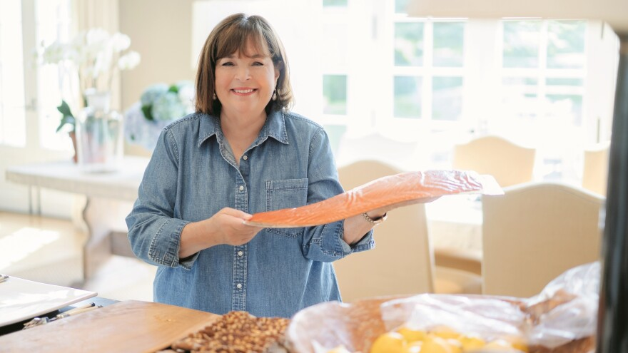 Ina Garten's new cookbook is <em>Modern Comfort Food.</em>