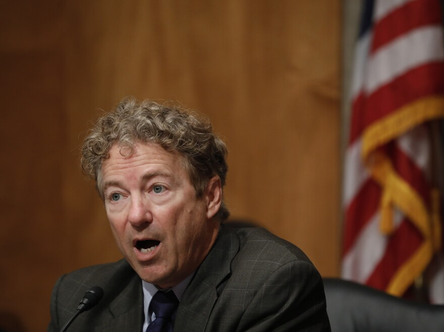 Sen. Rand Paul was tackled by his neighbor, Rene Boucher, in Kentucky last November. On Friday, Boucher was sentenced to 30 days in prison.